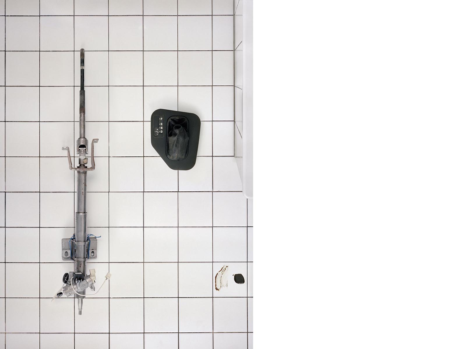 Bist Du bereit?, 2011, 91 x 66 cm, Lightbox