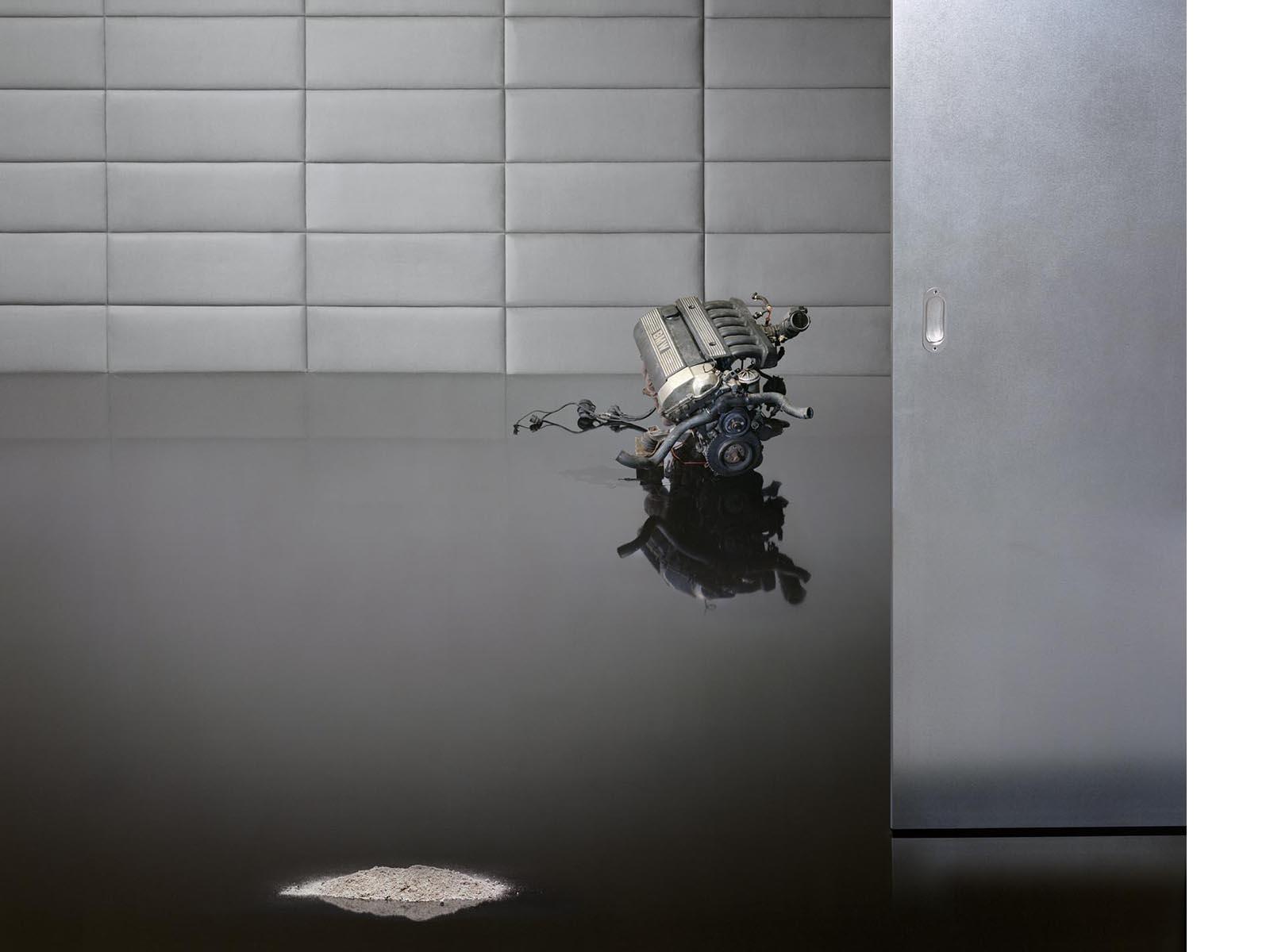 Was entsteht, wenn Perfektion ins kleinste Detail reicht, 2011, 121 x 151 cm, Lightbox