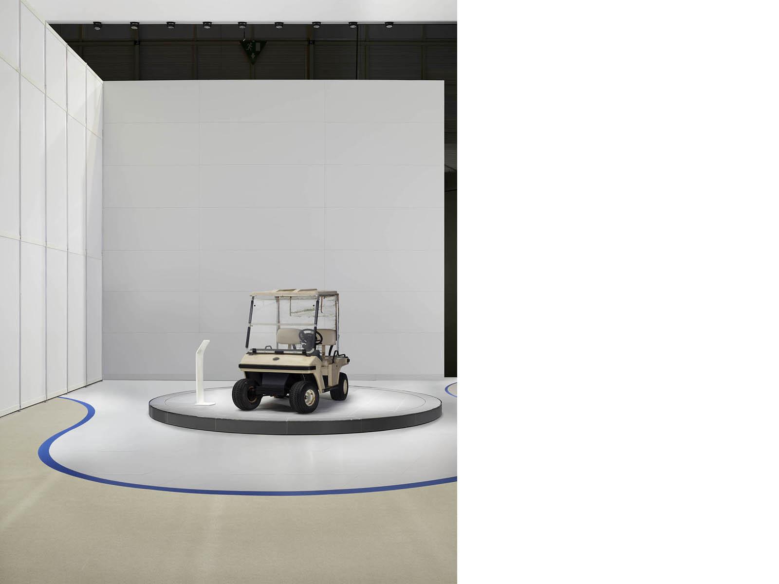 Schneller von heute nach morgen, 2013, 115 x 90 cm, Lightbox