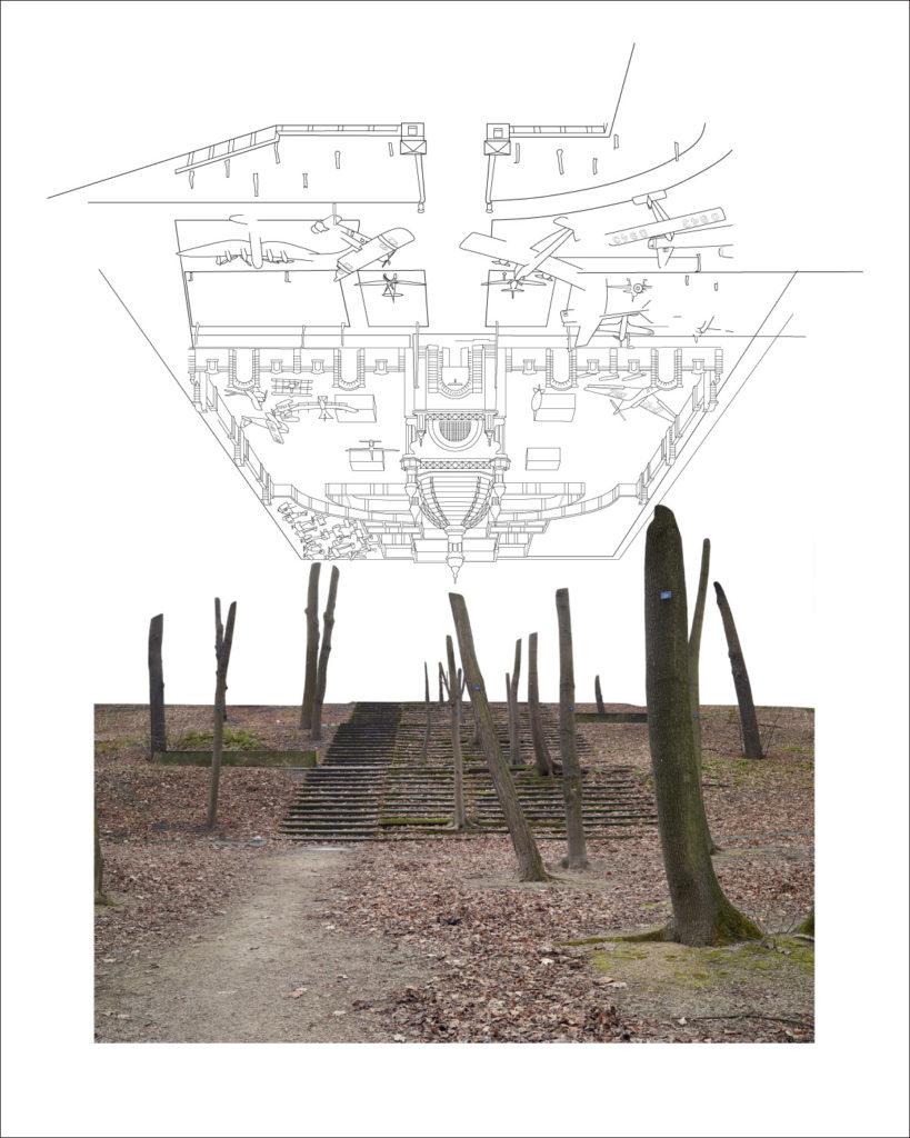 Z#8, 2016, 150 x 120 cm, Inkjet print